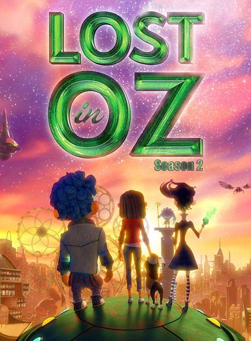 دانلود فصل دوم انیمیشن گمشده در اوز Lost in Oz S02 2018