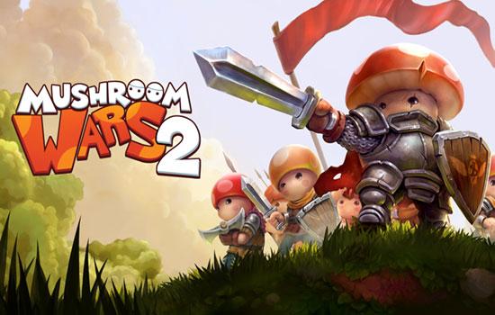 دانلود بازی آنلاین Mushroom Wars 2 v4.1.0
