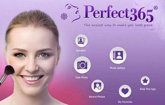 روتوش عکس با اپلیکیشن Perfect365 8.35.36