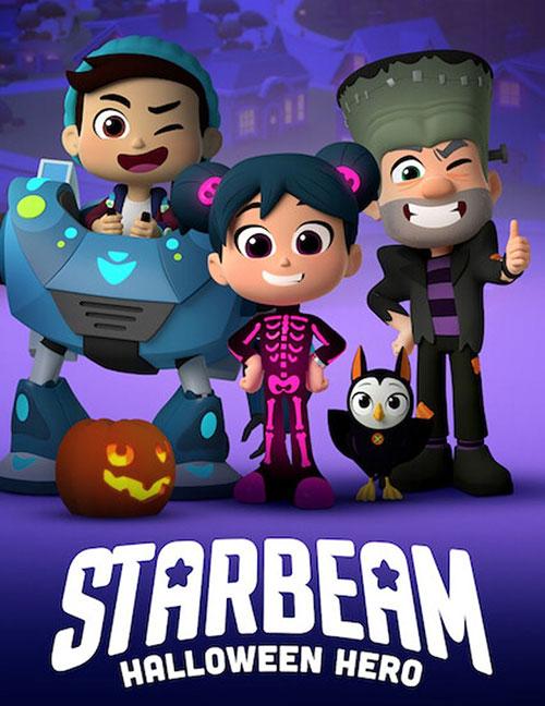 دانلود انیمیشن استاربیم: قهرمان هالووین Starbeam: Halloween Hero 2020