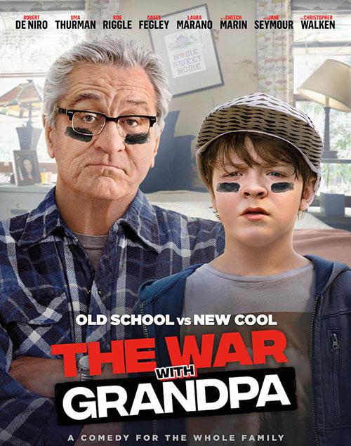 دانلود دوبله فارسی فیلم جنگ با پدربزرگ The War with Grandpa 2020
