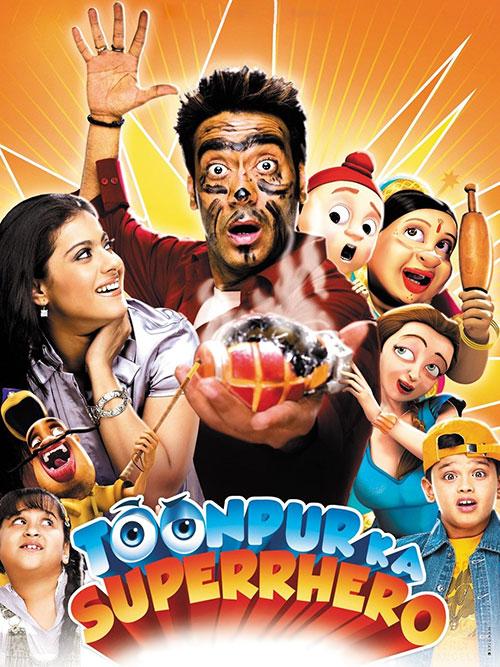 دانلود فیلم قهرمان تونپور دوبله فارسی Toonpur Ka Superhero 2010