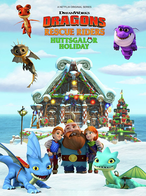 دانلود انیمیشن Dragons: Rescue Riders: Huttsgalor Holiday 2020