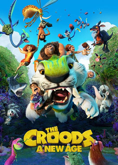 دانلود انیمیشن غارنشینان: عصر جدید The Croods 2: A New Age 2020