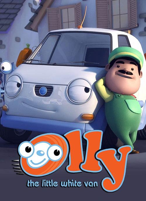 دانلود انیمیشن اولی ون کوچک Olly the Little White Van 2011