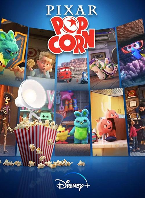 دانلود سریال پیکسار پاپ کورن Pixar Popcorn 2021