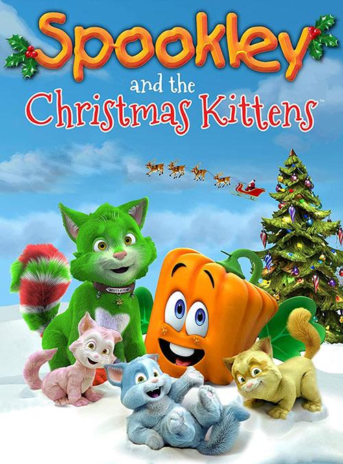 اسپوکلی و بچه گربه های کریسمس Spookley and the Christmas Kittens 2019