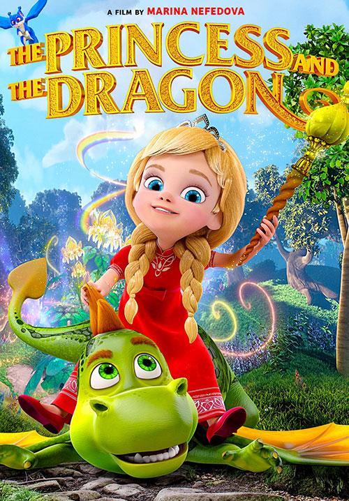 دانلود کارتون پرنسس و اژدها The Princess and the Dragon 2018