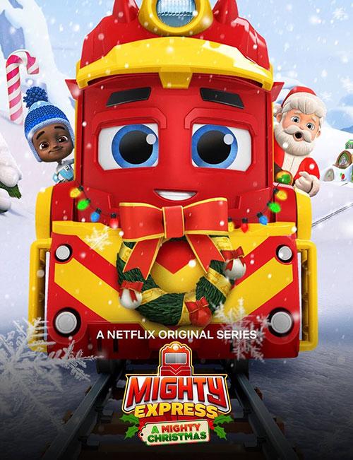 قطار تندرو: کریسمس شگفت انگیز Mighty Express: A Mighty Christmas 2020