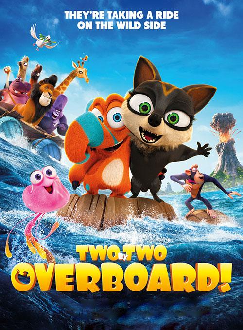 دانلود انیمیشن دو به دو: بر فراز دریا Two by Two: Overboard 2020