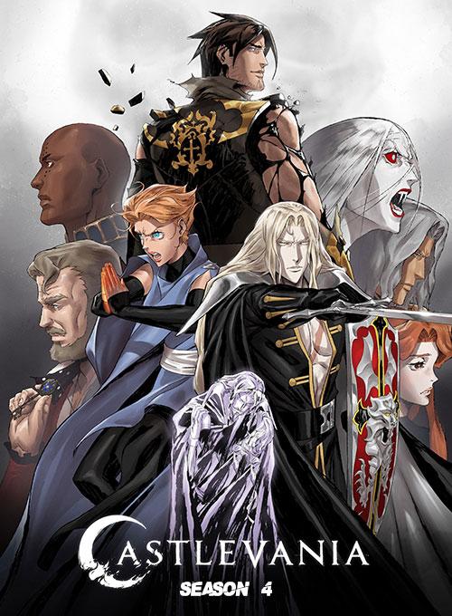 دانلود فصل چهارم انیمیشن کسلوانیا Castlevania Season 4 2021