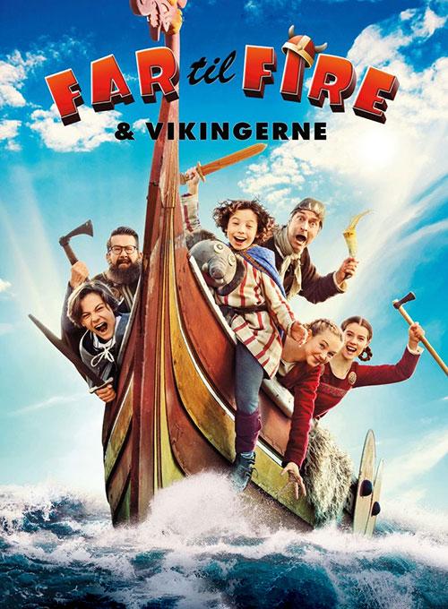 فیلم پدر چهار فرزند و وایکینگ ها Father of Four and the Vikings 2020