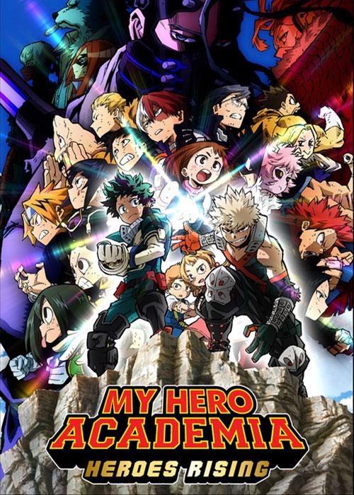 دانلود انیمه ژاپنی My Hero Academia: Heroes Rising 2019