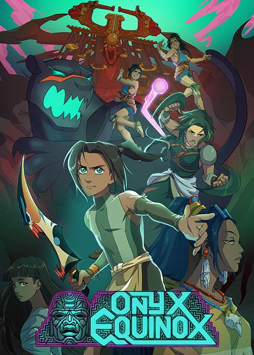 دانلود انیمیشن عدالت اونیکس Onyx Equinox 2020