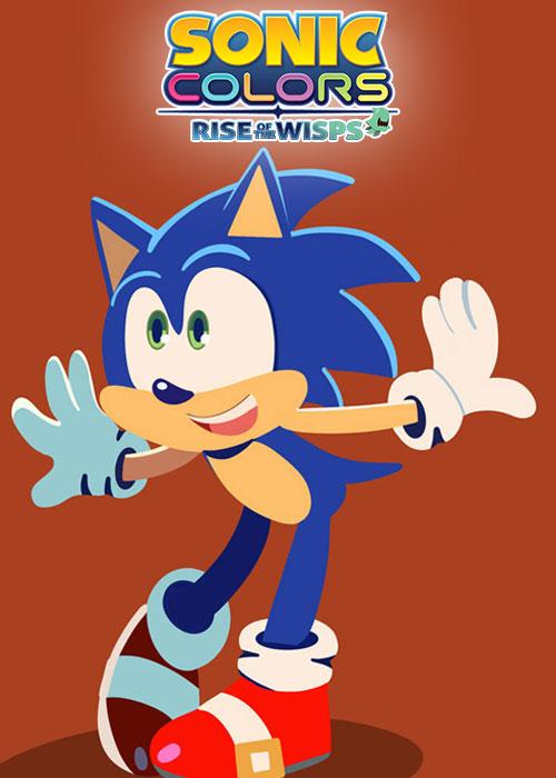 انیمیشن سونیک کالرز: ظهور جادوگران Sonic Colors: Rise of the Wisps 2021