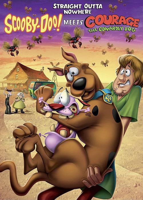 دانلود انیمیشن اسکوبی دوو! Scooby-Doo! Meets Courage the Cowardly Dog 2021
