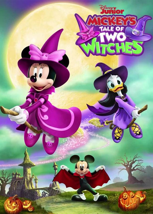 دانلود انیمیشن Mickey's Tale of Two Witches 2021