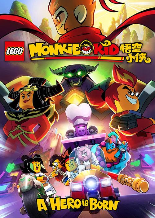 دانلود انیمیشن پسر میمونی Monkie Kid: A Hero Is Born 2020